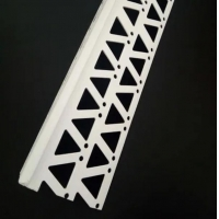 China Good quality and white color PVC corner bead with fiberglass mesh for wall corner wholesale