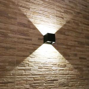 China 6W Waterproof IP65 adjustable PIR sensor led outdoor wall lights & wall mounted outdoor wall lights wholesale