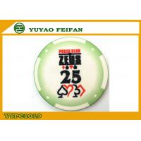 Quality Challenge Coins Best Ceramic Poker Chips Personalized For Supermarket for sale
