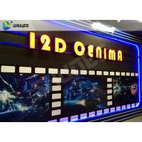 China SGS Dynamic 12D Cinema XD Simulator With 3 DOF Chairs / Motion Chair System wholesale
