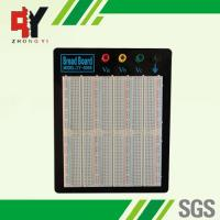 China ABS Plastic Reusable Solderless Breadboard Kit With Aluminum Plate wholesale