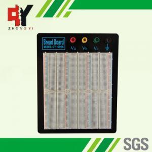 China Laboratory Equipment Soldering Breadboard ABS Plastic Black Alum Plate wholesale