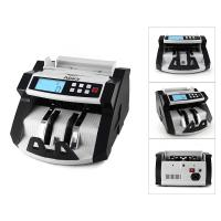 China Automatic Multi-Currency Cash Banknote Money Bill Counter Counting Machine LCD Display with UV MG Counterfeit Detector F wholesale