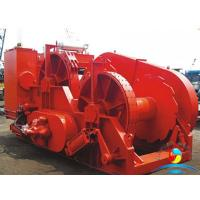 China 1000 KN High Speed Electric Winch With Water Fall Configuration wholesale