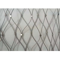 China Aisi 316 Stainless Steel 7x7 Drop Safe Net For Oil And Gas Companies wholesale