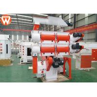 China Commercial 95KW Poultry Pellet Feed Plant 380V / 50Hz With Crumbler Machine wholesale