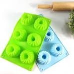 China Lightweight Silicone Cake Molds Non Deformed Deshwasher Washable wholesale