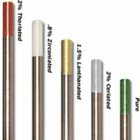 China 2.4MM (10 PACK) Lanthanated (2.0%) Tungsten Electrode WL20 welding electrode China supply wholesale