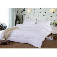 China Soft Hotel Collection King Duvet 350GSM And 80S Duck Down Cotton Winter With Diamound Pattern wholesale