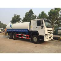 China Manual 15000l 6x4 Sprinkler Water Tanker Lorry on sale