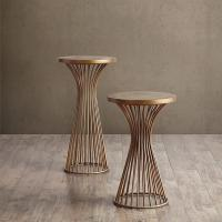 Buy cheap Industrial Setting Solid Wood End Tables , 24