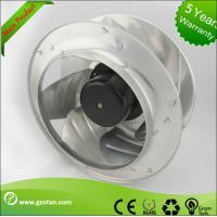 China Electric Power AC Centrifugal Fan / Exhaust Quiet Industrial Fan For Clean Room System wholesale