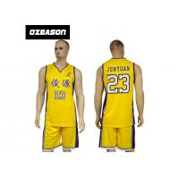 China Polyester Dry Fit Sublimation Custom Latest Basketball Jersey Design wholesale