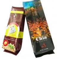 China Side Gusseted Reclosable Bags / Fresh Meat Packaging Pouch High barrier QS Approval on sale
