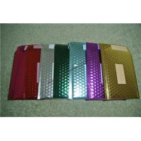 Recyclable Metallic Glamour Bubble Mailers , Durable Padded CD Mailers 175x165mm for sale