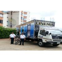 China Columbia Mobile 5D Cinema , Exiciting Car Cinema Snow Simulation wholesale