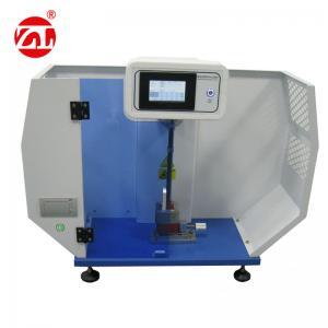 China Digital rubber  5.5J Electronic Charpy Impact Plastic Testing Machine wholesale