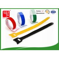 China Self Attaching Reusable hook and loop fastening tape with hole wholesale