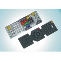 China 7.05 Mpa Eco - friendly Silicone Rubber Keypad Remote Control Button wholesale
