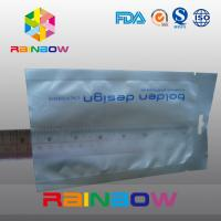 China White Color ESD Shielding Anti Static Zipper Bag With Hang Hole Use For Electron wholesale