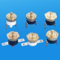China KSD301 M4 Thread Copper Head Temperature Thermal Cut-off Switch Thermostat KSD301 Overheat Protector on sale