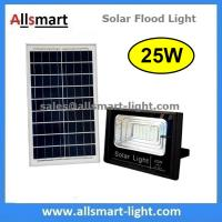 Buy cheap 25W Solar Flood Lights Solar Security Lamp With Remote Controller for Garden Football Pitch Outdoor Basketball Court from wholesalers