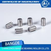 China Custom EN31 Gcr15 Steel Flat Round Quality Needle Rollers for Bearings wholesale