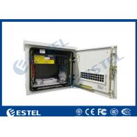 Buy cheap Anti-corrosion Outdoor Telecom Cabinet Temperature Control With One Front Door from wholesalers