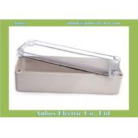 China 250*80*85mm Clear Lid Enclosures wholesale