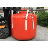 China 1 Ton - 2.5 Ton PVC Recycled Big Bag Cone Bottom / Flat Bottom With Spout wholesale