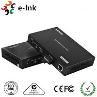 Buy cheap 1 Channel HDMI Over Fiber Optic Extender with 1 Channel 10 / 100M Ethernet from wholesalers
