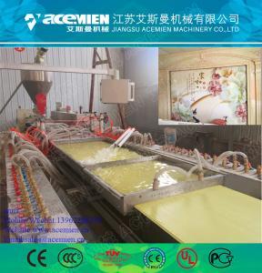 China Plastic pvc profile machine/wood plastic composite wholesale
