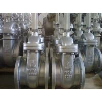 China Bolted Bonnet API ASTM A216 WCB Rising Stem  Flanged Gate Valve wholesale