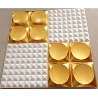 China Paintable Waterproof  3d PVC Wall tile for Interior Home/ Hotel Wall decoration wholesale