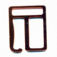 Buy cheap Metal hook for bra or swimsuit, lead- and nickel-free, available in two sizes from wholesalers