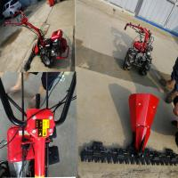 China Best price for self propelled sickle bar cutter scythe lawn mower for sale wholesale