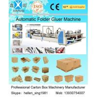 China High Speed Carton Automatic Folder Gluer Machine QF Series 140 Pieces / Min wholesale