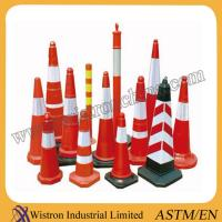 China High Quality Flexible orange PVC traffic cone exporting Standard wholesale