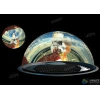 Buy cheap Customized Dome Movie Theater With 360° Screens Aluminum Alloy Structure from wholesalers