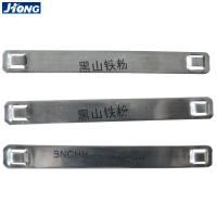 China SS304 Stainless Steel Marker Plates , SS Cable Tag Plate Fire Retardant wholesale