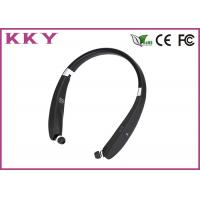 China Sports Style Portable Bluetooth Earphones Wireless Stereo Music Player With Neckband wholesale