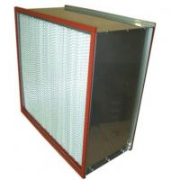China ISO Standard High Temperature Air Filter , Hepa Filter H13 H14 Efficiency on sale