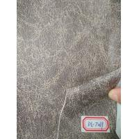 China Eco Bonded Faux Suede Upholstery Fabric Hot Stampling For Belts wholesale