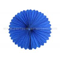 China Blue Pink honeycomb hanging balls / Tissue Paper Cardboard honeycomb party balls wholesale