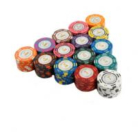 China 20PCS / Lot Poker Chips 14g Clay Coin Baccarat Texas Hold