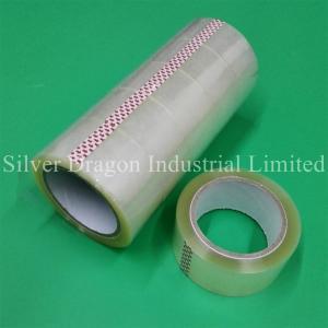 China Transparent BOPP packing tapes 48mm x 90yards, carton sealing tapes wholesale