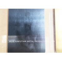 Gold Hairline Finish Stainless Steel Sheet 4x8 / SS 304 Sheet 0.3 - 3 MM