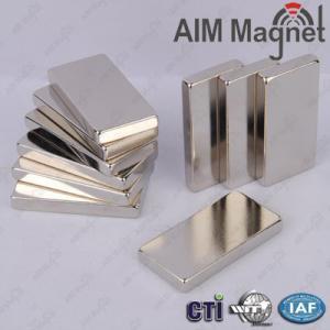 China Square Magnet Neodymium N52 wholesale