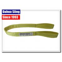 China Smooth Surface Boat Lift Slings Crane Equipment Lifting Straps OSHA Regulations wholesale
