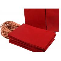 """China Small Paper Gift Bags With Handles Approx 5.25"""" x 3"""" x 8.5"""" Size with Strong Twisted wholesale"""